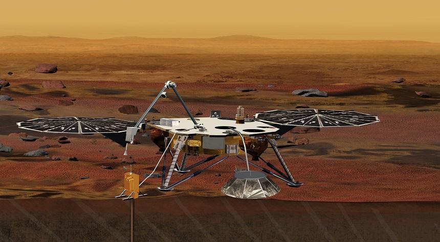 Космический аппарат InSight