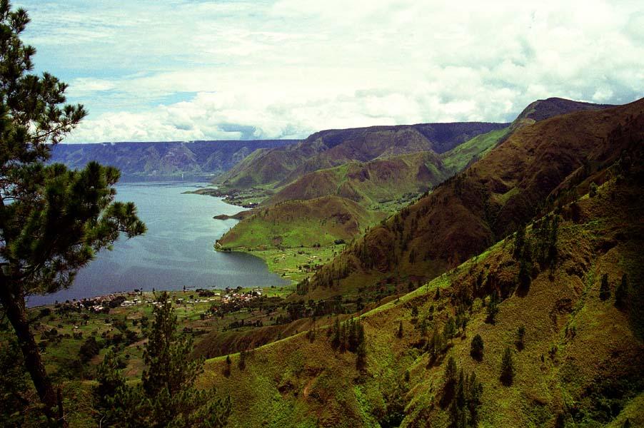 Район вулкана Тоба