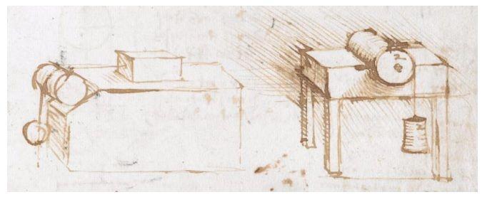 Опыты Леонардо да Винчи