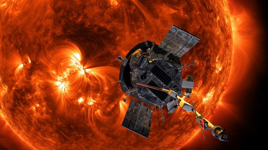 Солнечный зонд Parker Solar Probe.