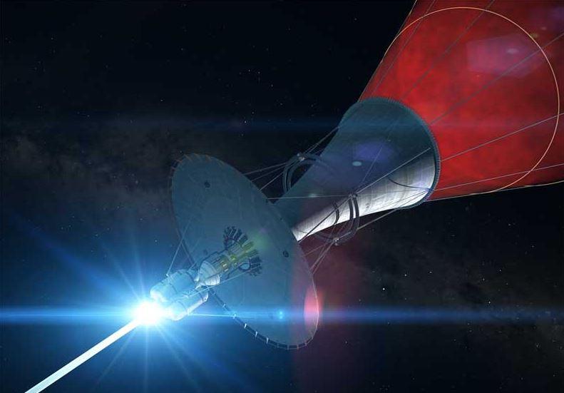 Межзвёздный космический корабль с прямоточным двигателем Бассарда