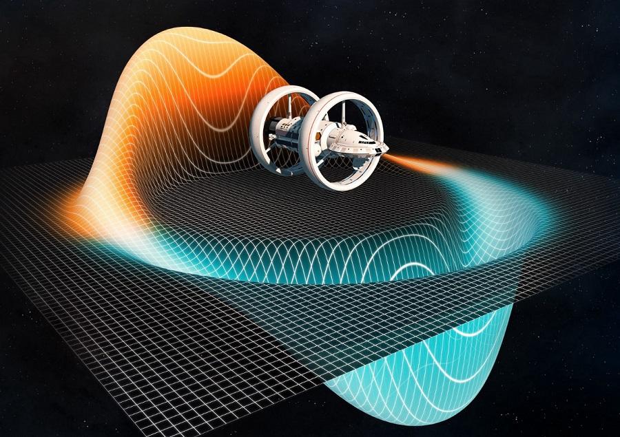 Космический корабль с варп-двигателем