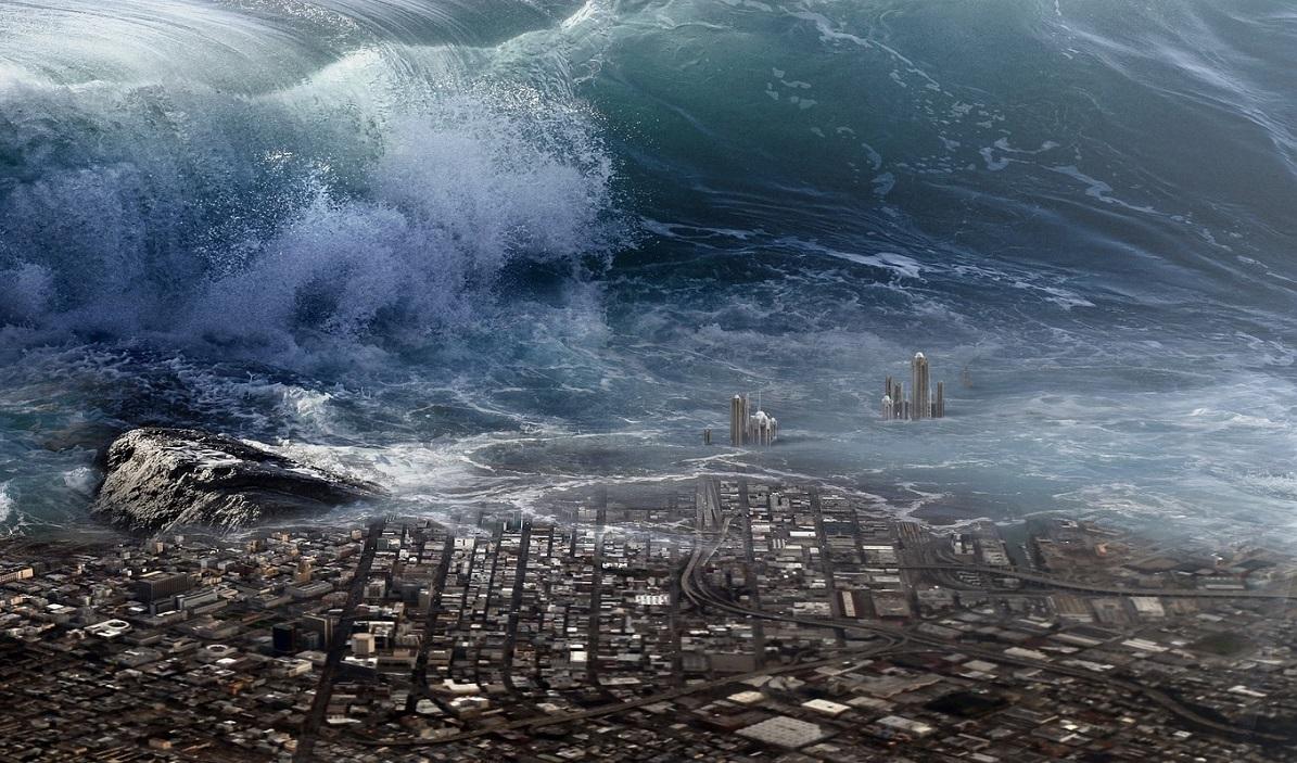 Картинки цунами с надписями