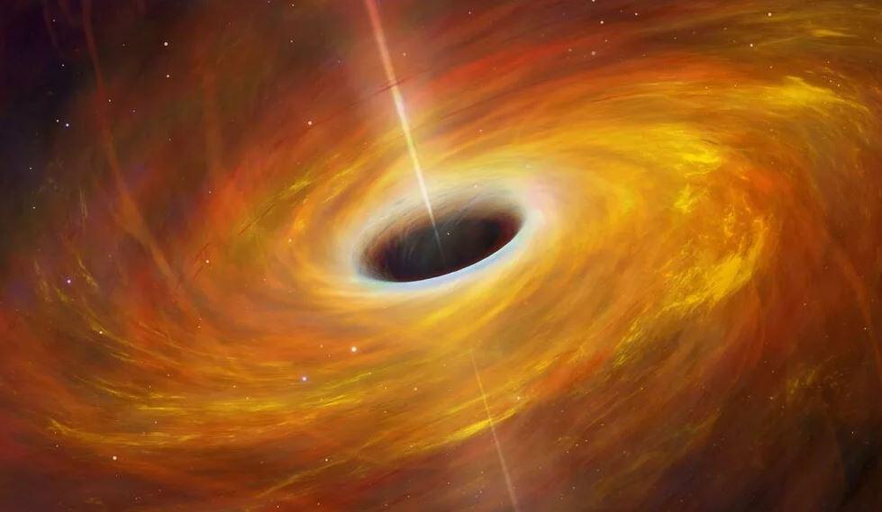 Черная дыра девятая планета