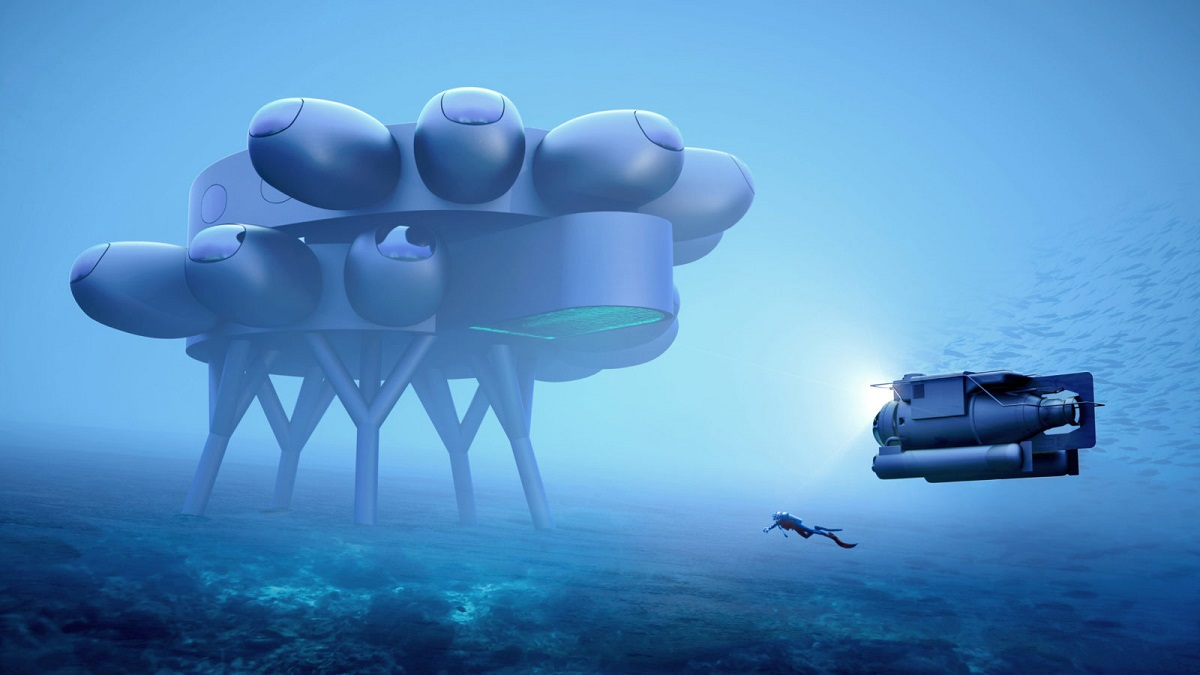 Проект известного исследователя океана и защитника природы Фабьена Кусто Fuseproject спроектировал PROTEUS