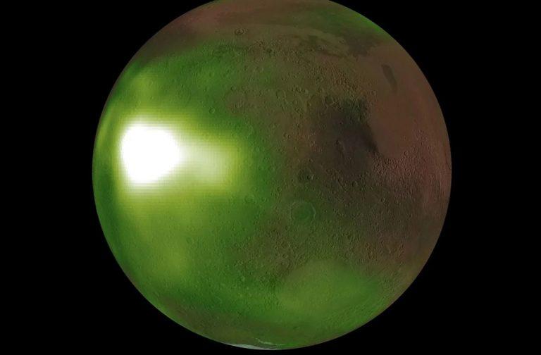 Свечение на Марсе