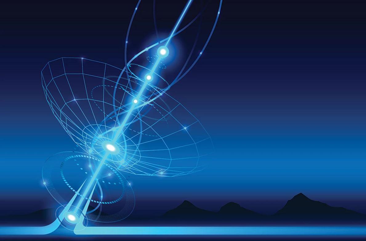 Волновые пакеты пространства-времени