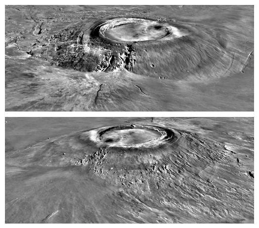 Вулкан Arsia Mons