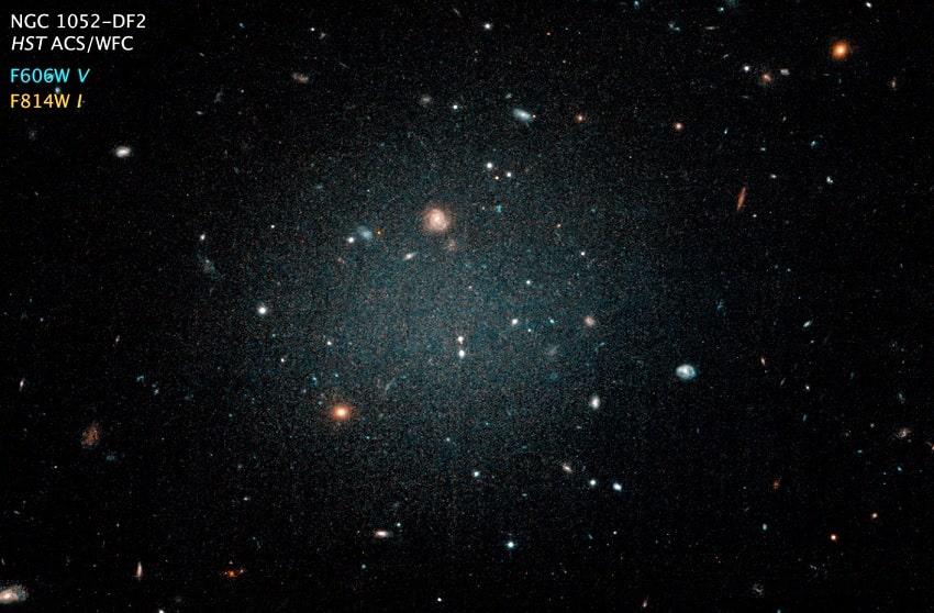Снимок галактики NGC1052 – DF2