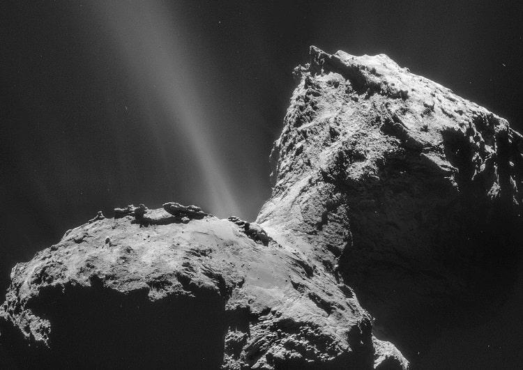 Комета 67P / Чурюмова-Герасименко