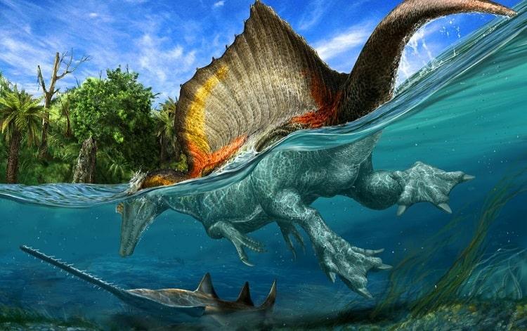 Spinosaurus aegyptiacus - это гигантский динозавр-теропод