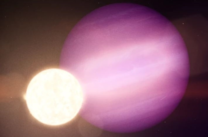 WD 1856 b, по размеру примерно равна Юпитеру