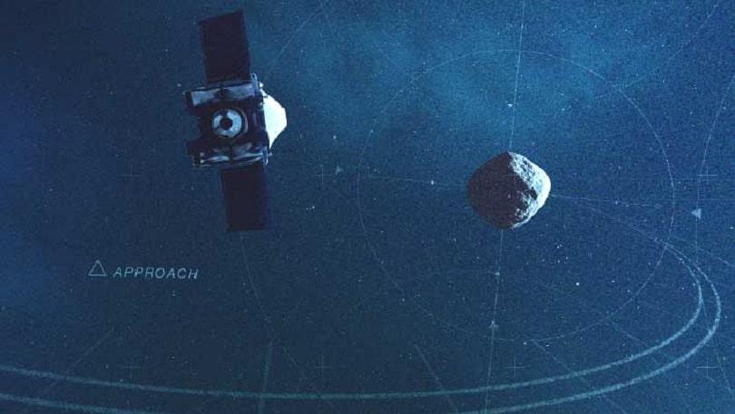 OSIRIS-REx исследует активность астероида Бенну