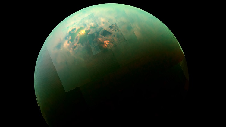 Титан, спутник Сатурна