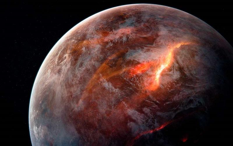 экзопланета вулканы