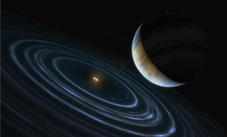 Экзопланета массой 11 Юпитера под названием HD 106906 b,
