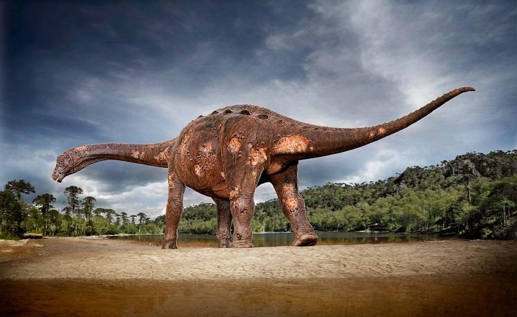 Титанозавр мелового периода страдал от паразитов крови и воспаления костей