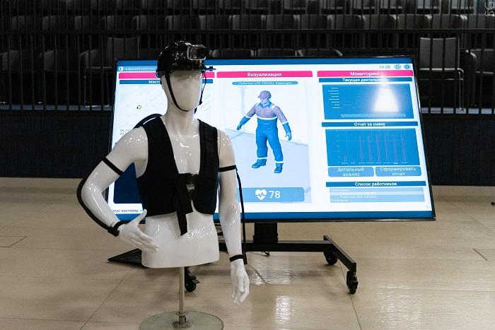 В НИТУ «МИСиС» разработали «умный» костюм для строителей
