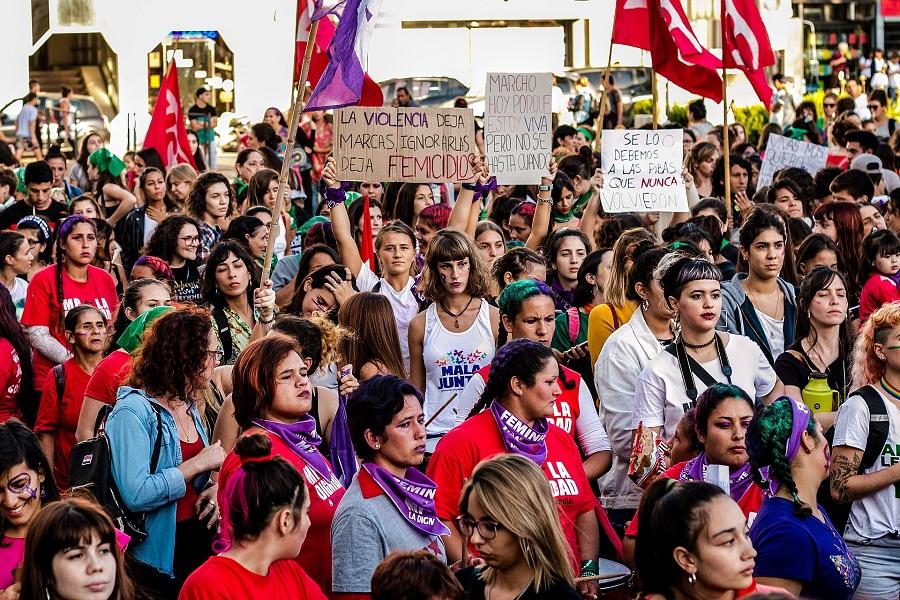 Международная женская забастовка, Парана, Аргентина, 2019
