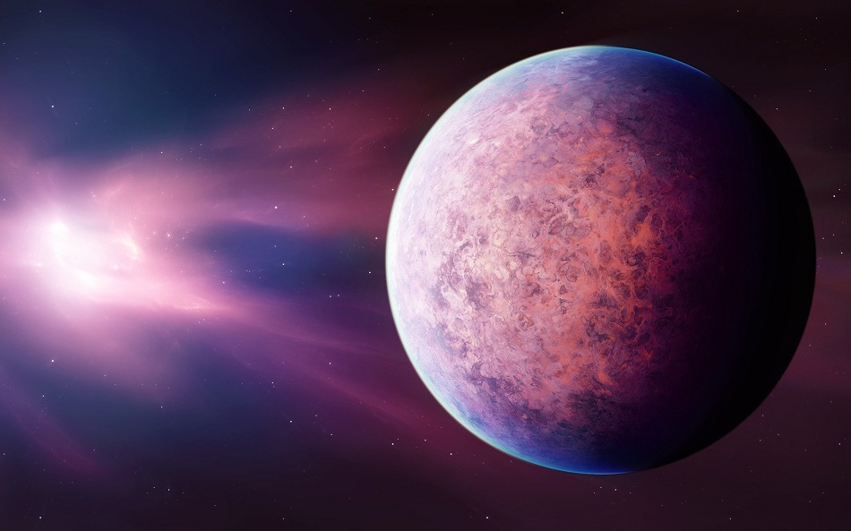 теплый нептун экзопланета
