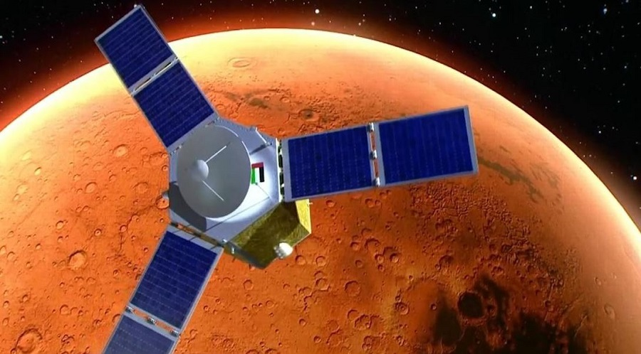 Космический аппарат Hope вышел на орбиту Марса