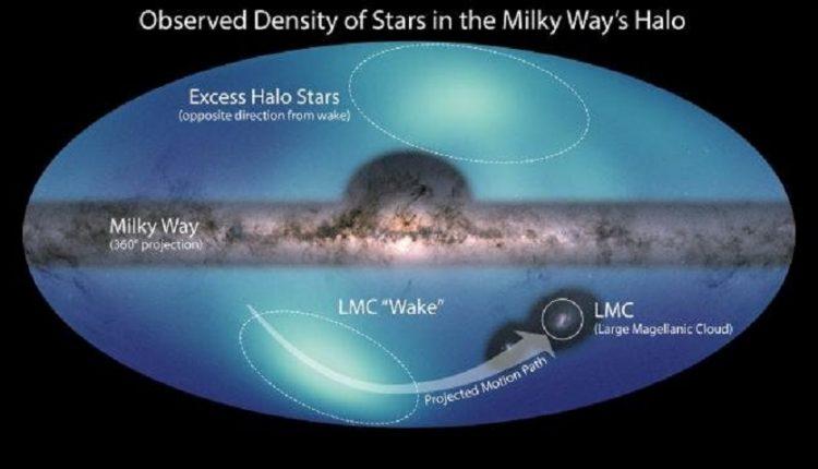 Астрономы создали новую карту внешних границ Млечного Пути