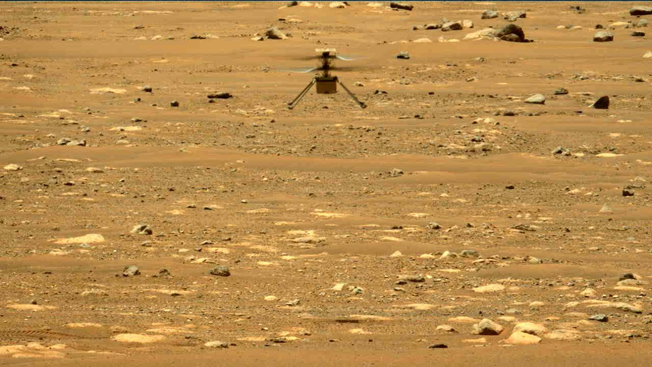 Вертолет NASA совершил второй полет на Марсе