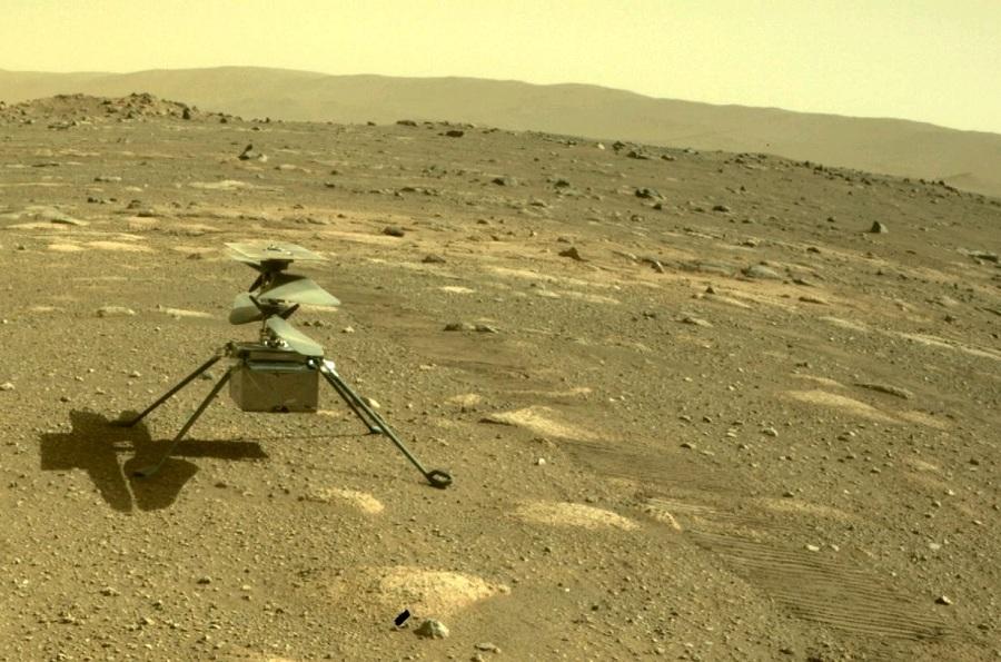 Марсианский вертолет Ingenuity © NASA/JPL-Caltech