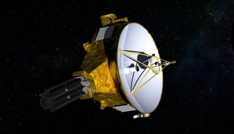 New Horizons достиг расстояния в 50 а.е и сфотографировал Вояджер-1