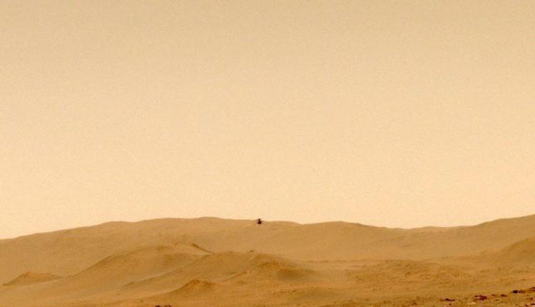 Вертолет Ingenuity совершил пятый испытательный полет на Марсе