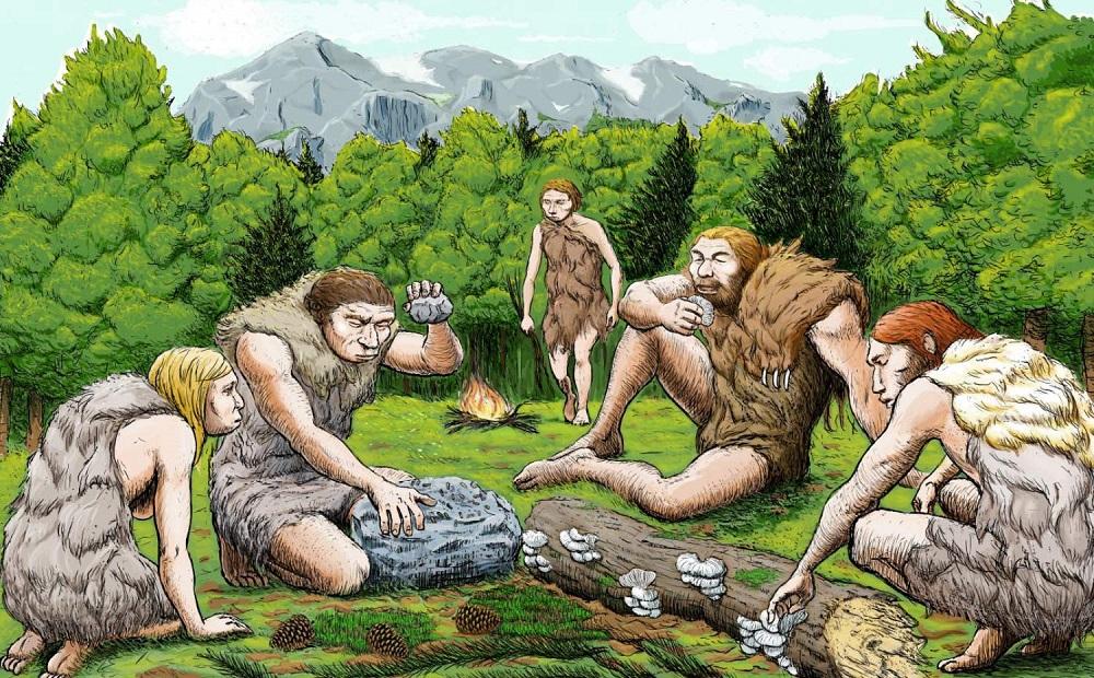 микробиом полости рта неандертальцев и людей
