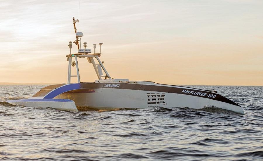 Автономное судно IBM Mayflower