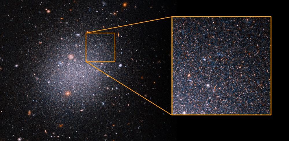отсутствие темной материи