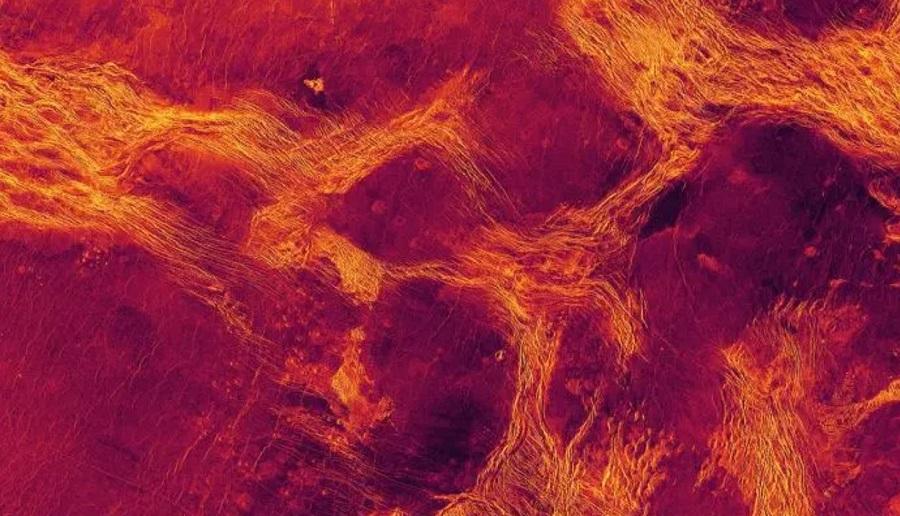 тектоническая активность на Венере