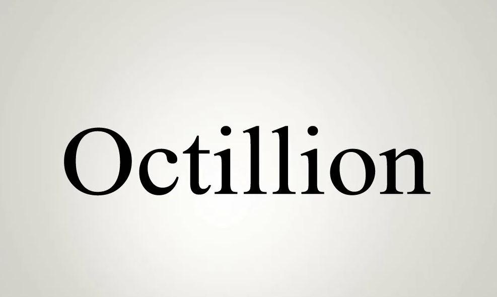 1 октиллион это сколько?