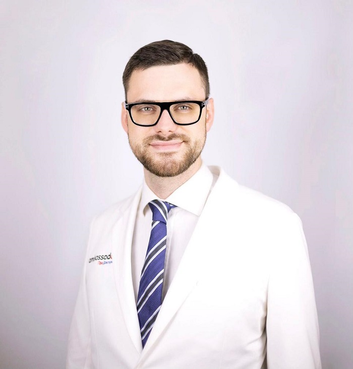 Ростислав Павлов - выпускник Высшей школы онкологии
