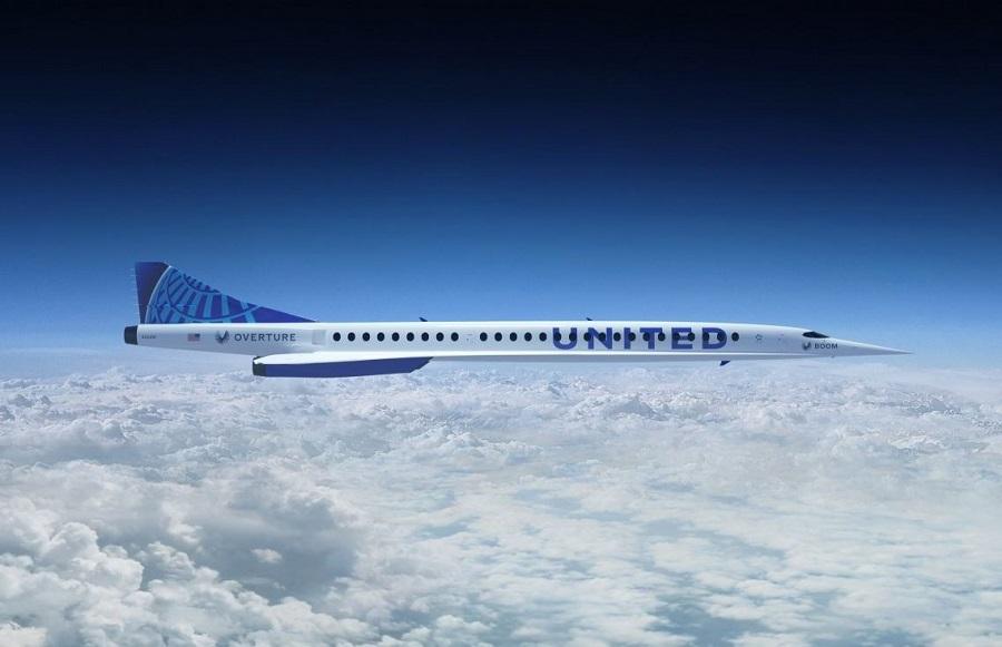 самолет Overture