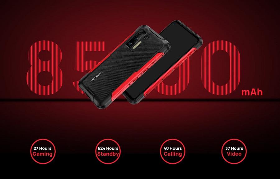 смартфон Doogee S97 Pro с лазерным дальномером
