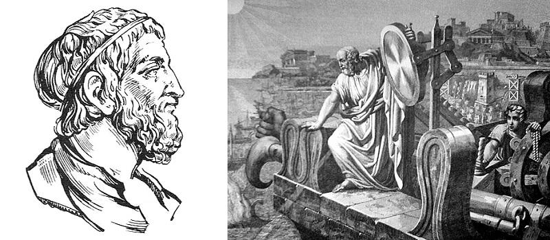 Как Архимед использовал зеркала, чтобы сжигать корабли римлян?