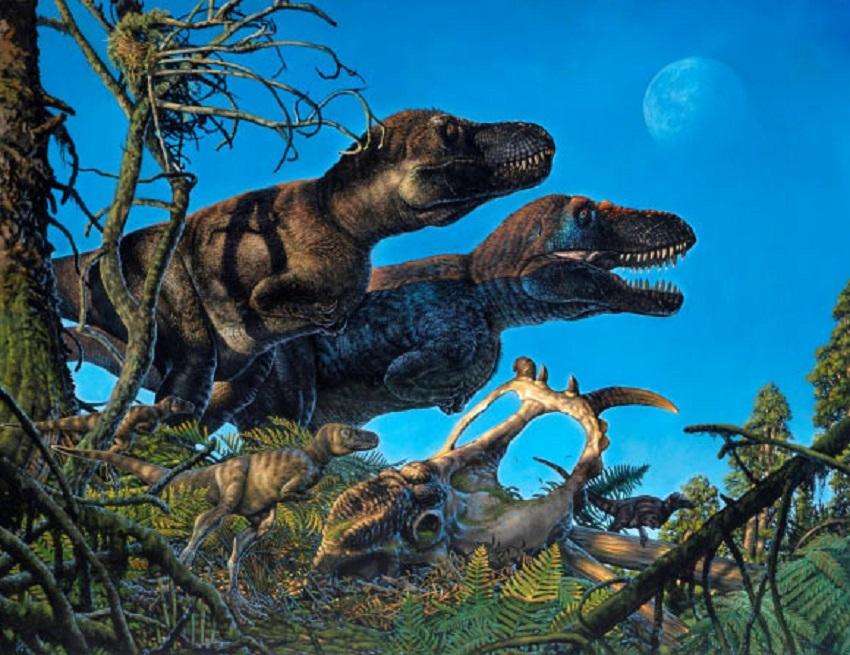 динозавры в арктике