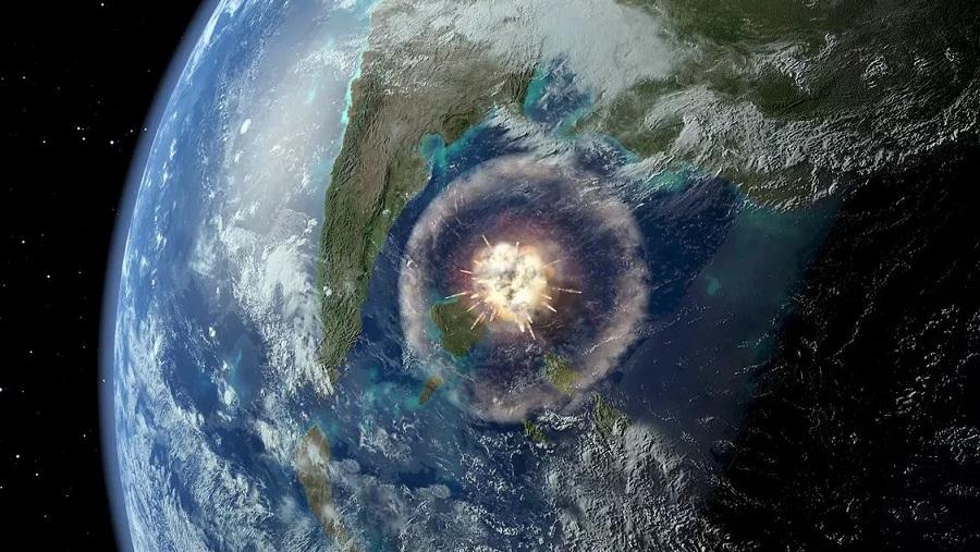 астероид и цунами