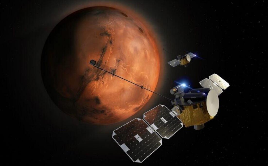 """Спутники-близнецы """"Blue"""" и """"Gold"""" отправятся исследовать Марс в 2024 году"""