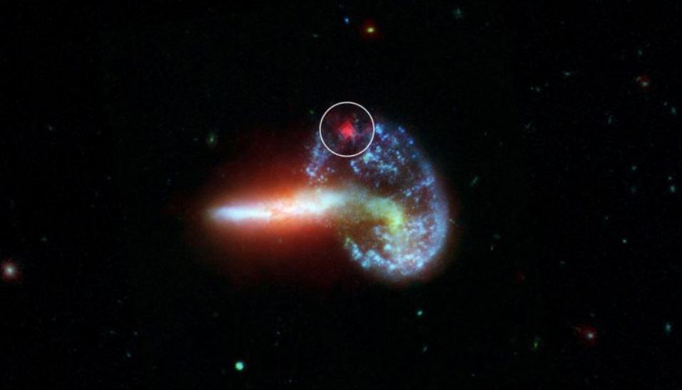 скрытые сверхновые галактика Arp 148