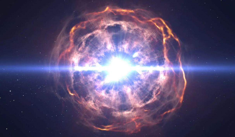 Странная металлическая звезда вылетает из Млечного Пути