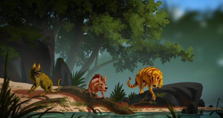 доисторические млекопитающие