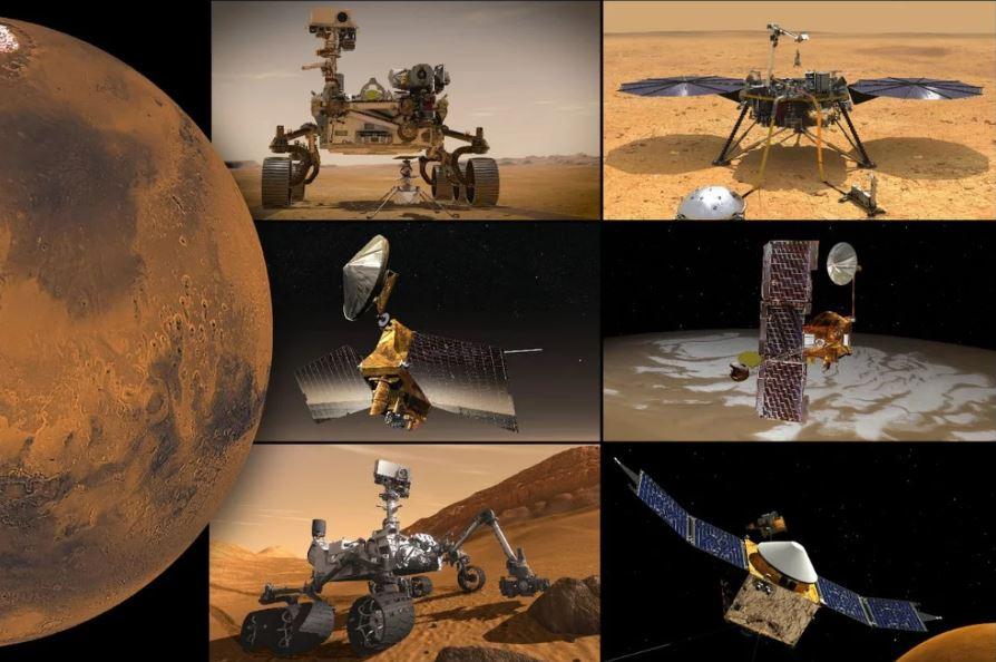 Миссии НАСА на Марсе временно переходят в простой режим работы