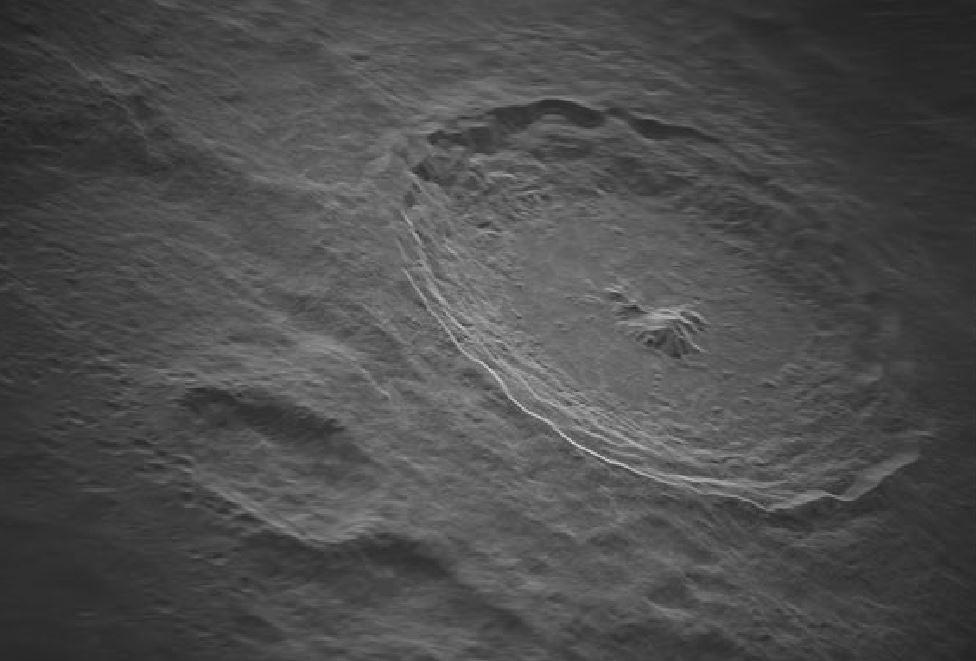 Радиоастрономы сделали снимок кратера Тихо с высоким разрешением