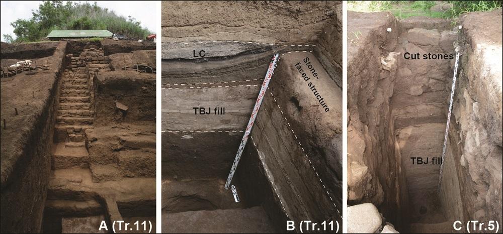 Древние майя построили пирамиду из пепла