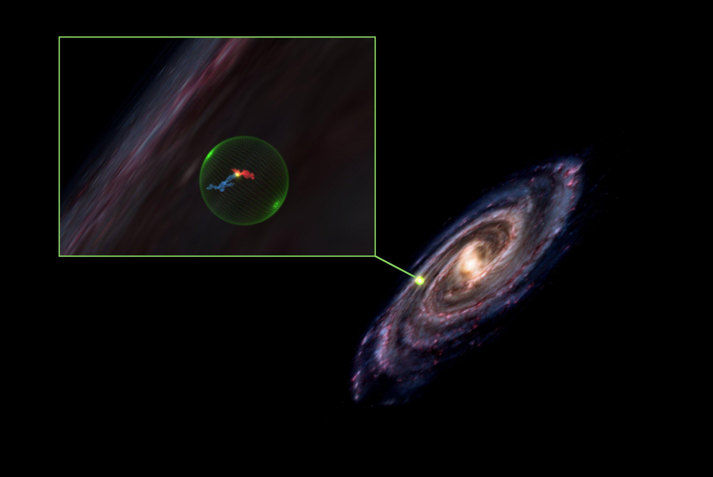 Гигантская полость в космосе проливает новый свет на формирование звезд