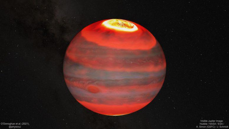 Астрономы обнаружили причину «энергетического кризиса» на Юпитере